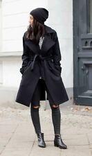 Bnwt Allsaints Miya wool coat.uk 14(fits 16).black.current!£358 *OFFER PRICE!!**
