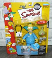 NEW! The Simpsons Playmates Busted Krusty the Clown Action Figure NIB