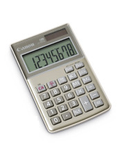Canon LS8TCG 8 Digit Calculator Battery & Solar Powered 2498B004 VAT included