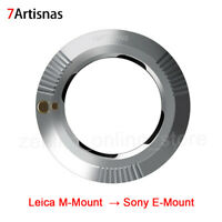 7artisans Lens Adapter for Leica M-Mount to Sony E-Mount Mirrorless Camera