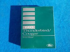 1993 Ford Thunderbird Mercury Cougar NOS Service Chassis Body Repair Manual