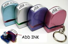 Custom Made Self Ink/Pre Ink Stamp Size 9x25mm (REFILL) Mini.Size