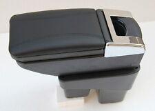 Black  Armrest Center Console Storage Box New For Honda Fit Jazz 2014-2017