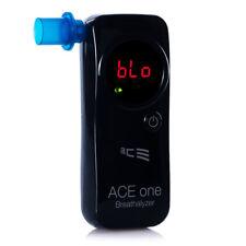 Éthylomètre Ace One + 25 Pièces Buccale et Kalibriergutschein (Noir) Testeur