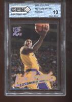 Kobe Bryant RC 1996-97 Fleer Ultra #52 Lakers Rookie HOF GEM MINT 10