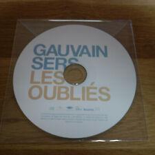 GAUVAIN SERS - LES OUBLIÉS !!!!! RARE CD PROMO !!!!!!!!!!!!!