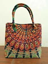 Indian Mandala Handbag Women Bag Bohemian Shopping Shoulder Carry Tote Purse Bag