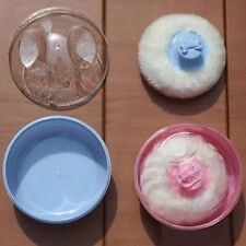 Infant Baby Soft Face Powder Puff Container Sponge Case Box Makeup Cosmetic Tool