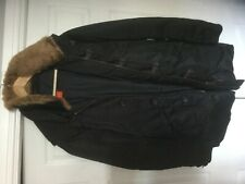 Hugo boss coat quilted jack parker xl big removable hood 100% authentic genuine