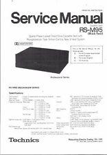 Technics Service manual für RS-M 95