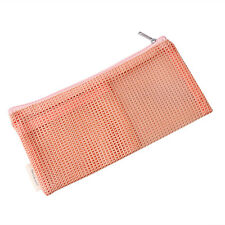 Clear Transparent Plastic PVC Travel Makeup Cosmetic Toiletry Zip Bag Pouch