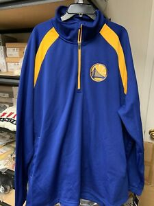 Golden State Warriors G-III Sports by Carl Banks Royal Flexibility Pullover 5XL