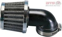 Luftfilter Polini Metal Air Filter 38mm 90° Chrom-Adly/Herchee,Aeon,AGM,Aprilia
