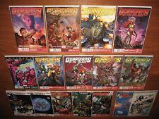 Guardians of the Galaxy 0.1, 1-27 COMPLETE + ANNUAL! A NM set + 2014 FCBDs 12pix