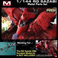Metal Details up Parts Set for Bandai RG 1/144 MSN-04 Sazabi Gundam Model Gunpla