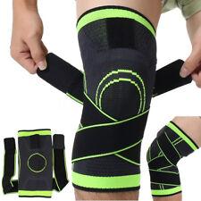 Adjustable Genouillère Respiration Protège Genou Protection Sport Gym Basketball