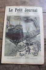 Petit journal illustré N°137 1893 Catastrophe du Victoria - Saint Ail