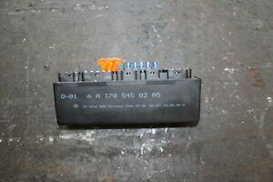 Mercedes  SLK R 170 Mopf Relaiseinheit K 40 vorne A 170 545 02 05  (11)