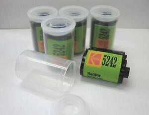 5 Rolls MotiPix Kodak 5242 35mm 36 Exp Motion Picture ECN-2 Process Film SLOW