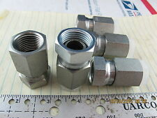 "Lot of (5) ½"" NPT Female To Female Swivel Adaptor / Connector [C1S4]"
