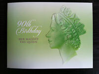 2016 QUEEN ELIZABETH II 90TH BIRTHDAY 3 COIN PRESTIGE PNC NUMBERED : 1133