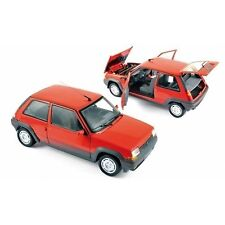 NOREV 1:18 AUTO DIE CAST RENAULT SUPERCINQ GT TURBO PH I ROSSO RED  ART 185208