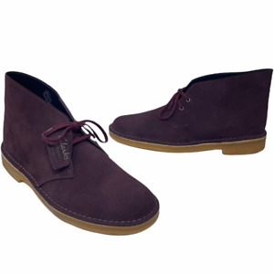 Clarks Originals Charles F. Stead Mens Chukka Desert Boots Lace Up 9.5 M New
