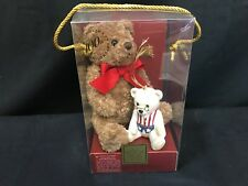 Lenox for the Holidays American Bears 100th Anniversary Plush and Bear Ornament