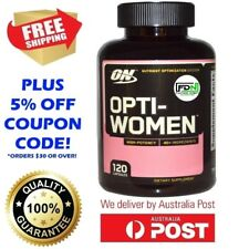 Optimum Nutrition OPTI-WOMEN 120 Capsules - #1 Women's Multivitamin OptiWomen