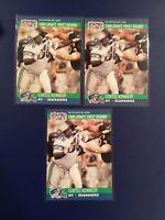 1990 Pro Set # 671 CORTEZ KENNEDY Rookie Lot 3 Seattle Seahawks HOF LOOK !!