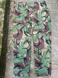 BRITISH ARMY CADET FORCES DPM LINED COMBAT TROUSERS 68 PATTERN  - 90/94/112