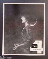 VINTAGE PRESS PHOTO / JOHANNA ROSALY / WAPA TV / PUERTO RICO / 1970's #1