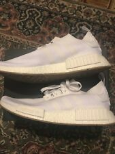 Adidas NMD R1 Gum Pack Triple White Size 11 UK *with box*