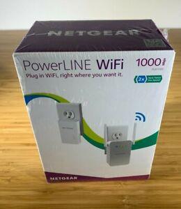 NETGEAR PLW1000-100NAS 1000 mbps Wi-Fi Gigabit Port - PowerLINE WiFI