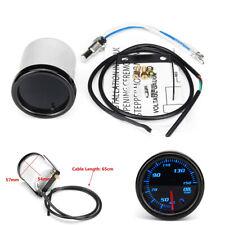 "2"" 12V Universal Car LED Oil Temp Temperature Gauge Meter w/ 1/8 NPT Temp Sensor"