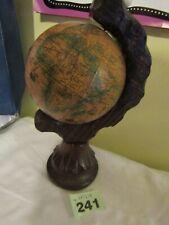 Vintage Spanish Globe on Wooden Base