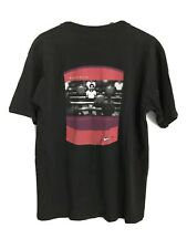 New listing Vtg Nike Soccer t shirt mens M Made In Usa black foosball graphic Sports