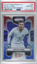2018 Panini Prizm World Cup Red and Blue Wave Hugo Lloris #78 PSA 10