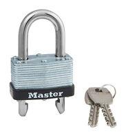Master Lock  1-3/4 in. Warded Locking  Laminated Steel  Padlock