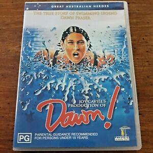 Dawn DVD Swimming Legend Dawn Fraser R4 VERY GOOD – FREE POST