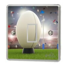 Rugby Ball Light Switch Sticker Vinyl/Graphics/Decal/Skin Cover sw31