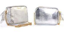 Victoria's Secret Fashion show bag crossbody metallic silver gold handbag chain