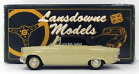 Lansdowne Models 1/43 Scale LDM23 - 1962 Ford Consul Mk II Convertible - Green