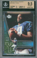 2006 upper deck #30 VINCE YOUNG rc BGS 10 9.5 9.5 9.5
