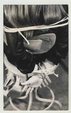 Rear View Of Woman Tight To Office Chair / Heels - BDSM (Vintage Photo Master 19