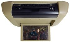06 07 08 09 10 TOYOTA Sienna OEM Overhead Roof DVD Player Screen Display Tan