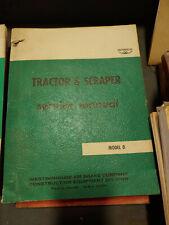 MODEL D TRACTOR & SCRAPER SERVICE MANUAL - WABCO