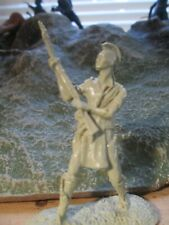*Barzso* INDIAN MOHAWK 54mm Marx size 1:32 toy soldiers army men Last o Mohicans