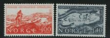 Norway Stamps 1973 Sg 712-713 Geographic Measuring of Norway Unmounted Mint Mnh