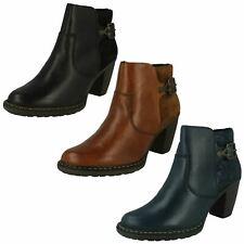 Ladies Rieker Smart Ankle Boots 55292